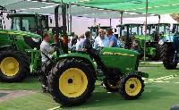 Mayor espacio de exposición en la Feria de Maquinaria Agrícola de Úbeda